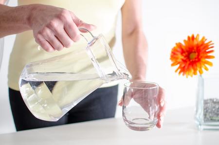 Wasser trinken gesund
